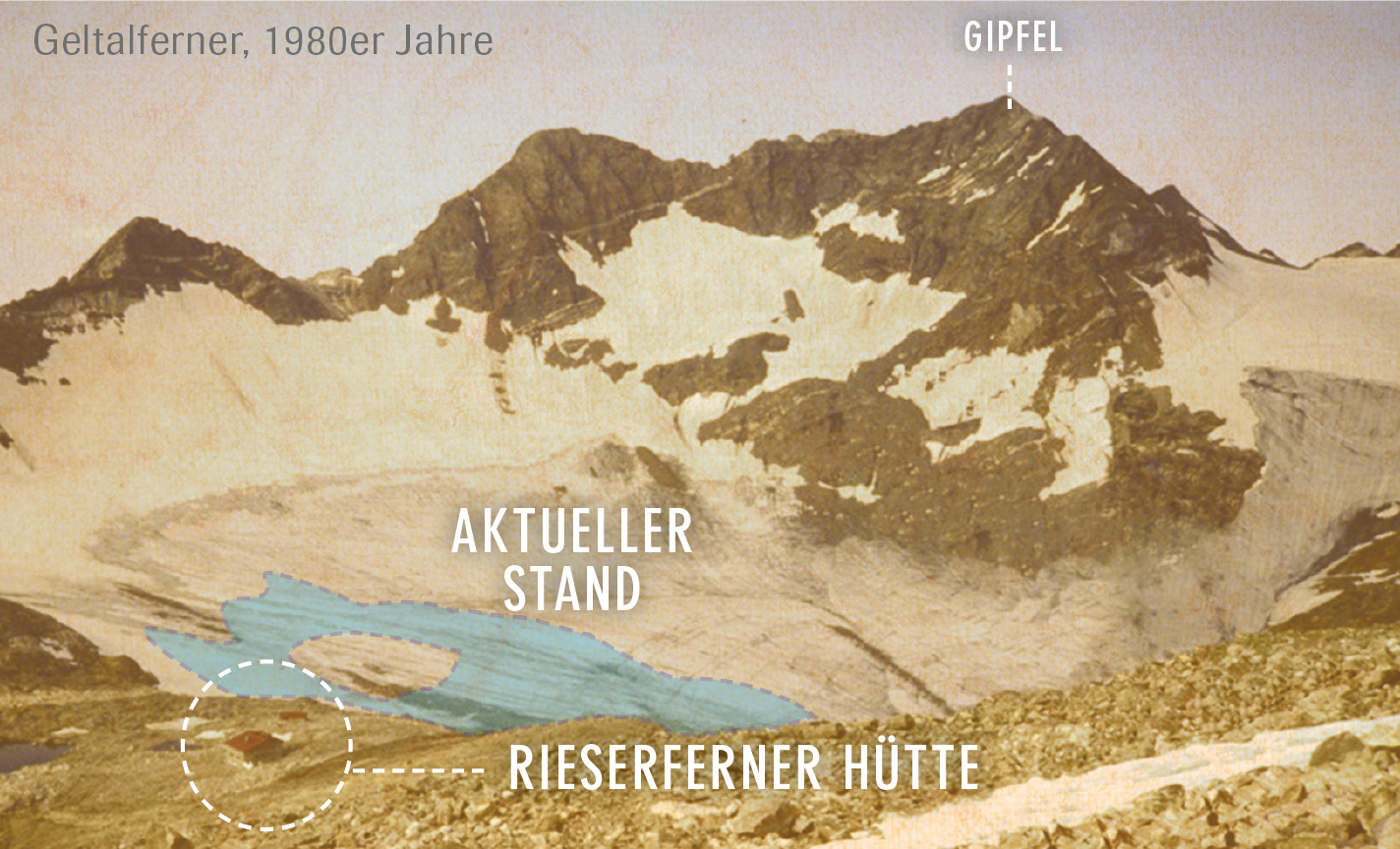 ANTHOLZ GLETSCHER